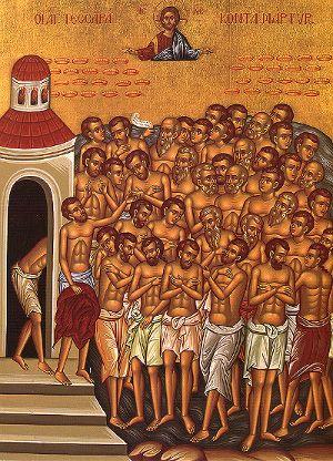 I 40 martiri di Sebaste