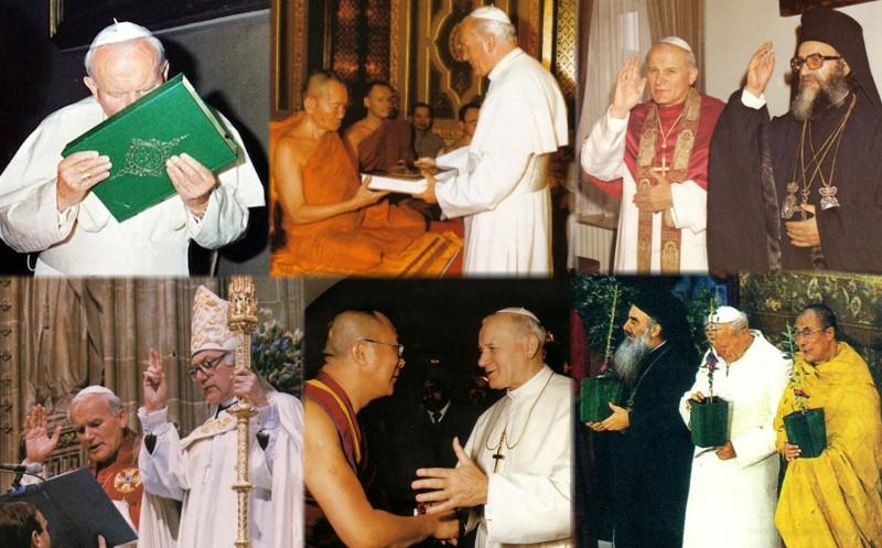 L'apostasia degli eventi inter-fedeli di Assisi