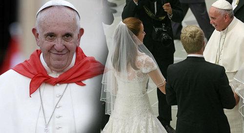 Antipapa Francesco conferma la sua sediziosa eresia sul divorzio e sul nuovo sposalizio su Twitter
