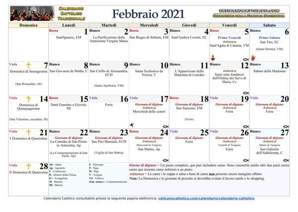 Febbraio 2021