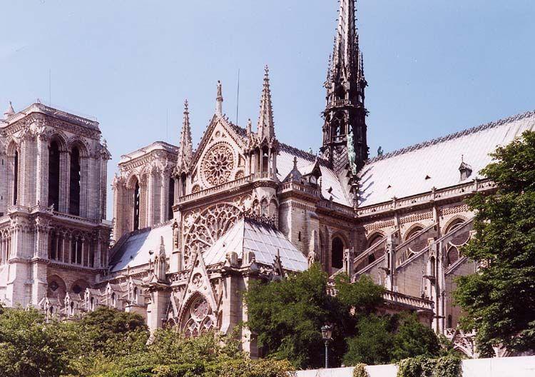 Chiesa di Nostra Dama, Parigi, Francia.