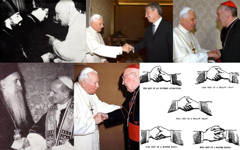 I nemici della Chiesa Cattolica, i comunisti ed i frammassoni, operarono uno sforzo organizzato di infiltrazione nella Chiesa Cattolica