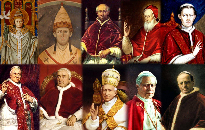 Degli altri Papi circa Extra Ecclesiam Nulla Salus