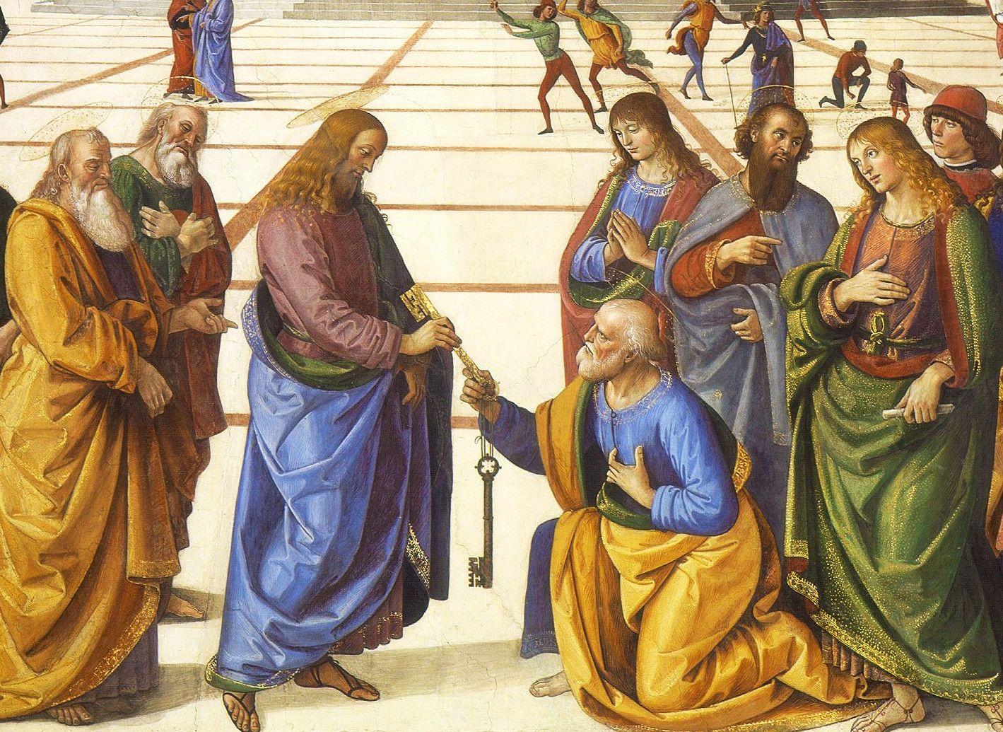 Le chiavi di San Pietro e la sua Fede Universale infallibile