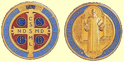 Medaglia di San Benedetto.