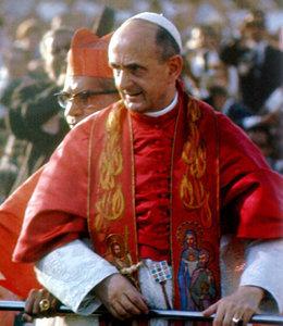 Antipapa Paolo VI con l'efod