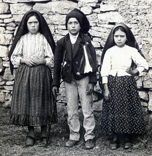 Lucia Dos Santos, Francesco e Giacinta Marto di Fatima, Portogallo