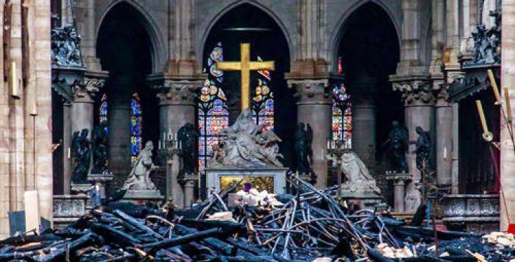 Incendio Notre Dame 2019: imminenza punizione Divina